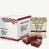 Patriot Pantry Fudge Brownie Mix Case Pack (48 servings, 4 pk.) Bulk Emergency Storage Food Supply, Up to 10-Year Shelf Life
