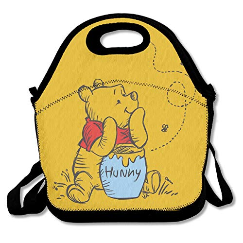 Meirdre Lunch Box Winnie The Pooh Insulated Personalized Tote Lunch Food Bag