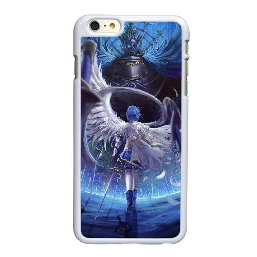 S2W97 Sayaka Miki Puella Magi Madoka Magica N8W3SH coque iPhone 6 Plus de 5,5 pouces cas de couverture de téléphone portable coque blanche WU5YQE3IO