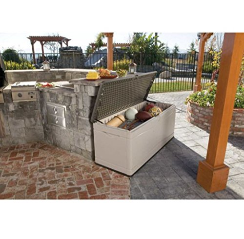 Lifetime 60298 Heavy Duty Outdoor Storage Deck Box 130