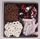 Scott's Cakes Large 4-Pack Chocolate Pretzels, Yogurt Pretzels, Salt Water Taffy, & Licorice Mix