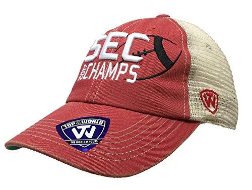 Top of the World Georgia Bulldogs 2017 NCAA Sec Football Champ Meshbac ()