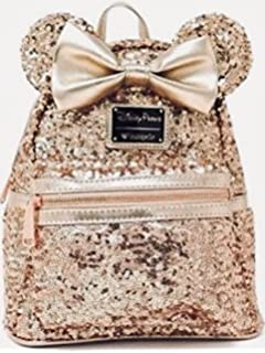 Disney Loungefly Rose Gold Backpack —SOLD OUT HARD TO FIND—- last one!