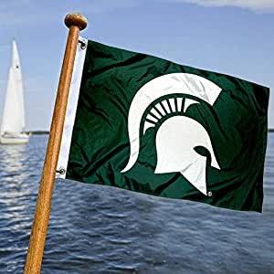 MSU Spartans Boat and Nautical Flag