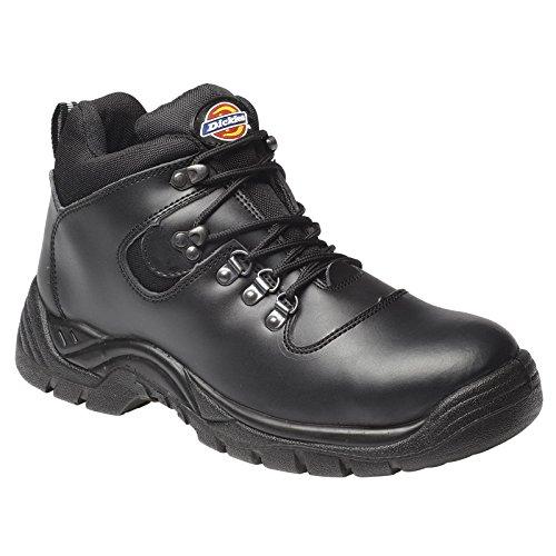 Dickies Mens Fury Super Safety Steel Toe Cap Hiker Work Shoes 7-11 Black zJetZt