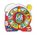 Kids Play Little People See n' Say Farmer Eddie Says Girls Boys Toy