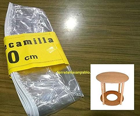 Productos Plastico Cubre camillas para Mesa Redonda (90 cm ...