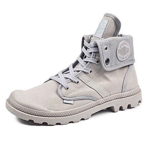 Botas Para Mujer Zapatos De Senderismo Cómodo Anti-Deslizante Sintético Calzado Zapatillas De Running Gris