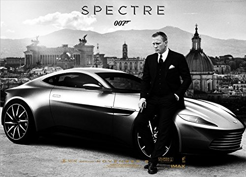 Twenty-three 24X36 Inch canvas Poster New Arrival Hot Sale James Bond 007 Spectre Movie