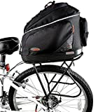 Ibera PakRak Commuter Bag and Touring Carrier Rack Plus+ (Frame Mounted) Combo Set