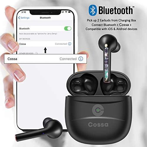 Cossa True Wireless Earbuds Bluetooth 5.0 Headphone