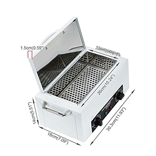 Zgood Dry Heat Cabinet Autoclave Tattoo Disinfect Salon Machine 110V for Lab