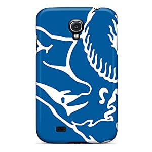 Perfect Hard Phone Covers For Samsung Galaxy S4 With Support Your Personal Customized Vivid St. Louis Rams Series AaronBlanchette