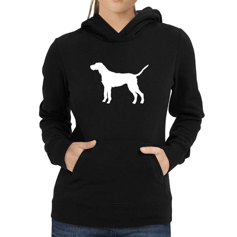 Eddany Hungarian Wirehaired Vizsla Shape Women Hoodie