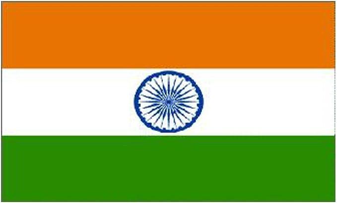 India Nacional Bandera 5ft x 3ft: Amazon.es: Hogar