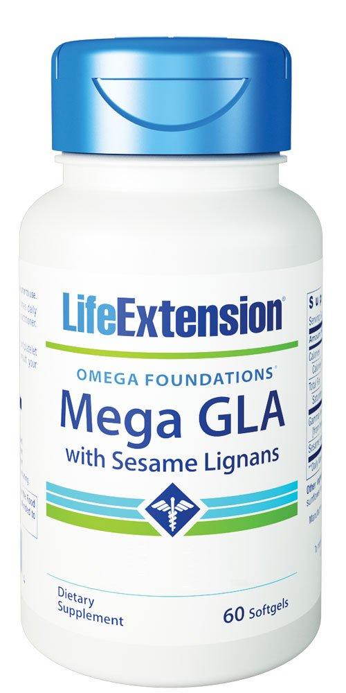 Amazon.com: Vida extensión Mega GLA con lignanos de sésamo ...