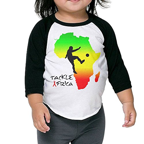 [Tackle Africa Kid's Sleeve Raglan Clothes Unisex 3 Toddler Stylish] (All Costumes For God Of War 3)