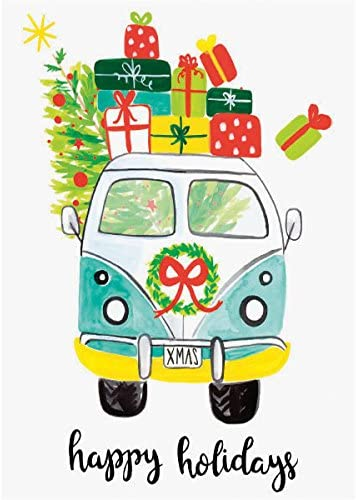 Amazon.com: Graphique VW felices fiestas Tarjetas Boxed ...