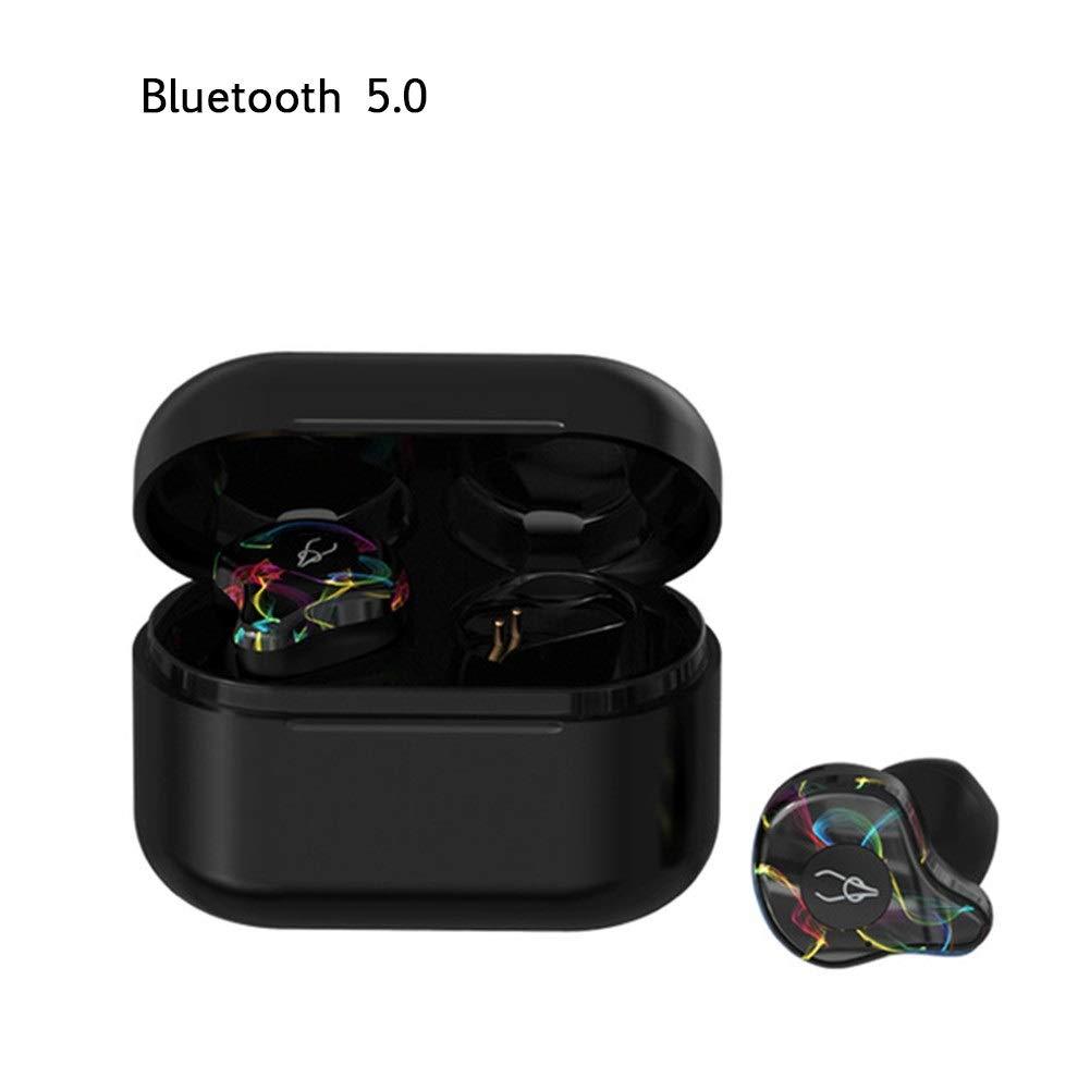 LYgMV ミニBluetooth 5.0ヘッドフォンワイヤレスイヤホンステレオヘッドフォンBluetooth 5.0防水ワイヤレスイヤホン (Color : E)   B07NVNG9V7