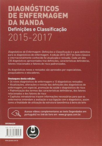 Diagnósticos de Enfermagem da NANDA. Definições e Classificação 2015-2017