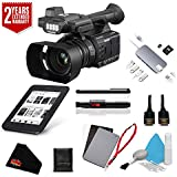Panasonic AG-AC30 Full HD Camcorder with Touch Panel LCD Viewscreen AG-AC30PJ + 2 Year Extended Warranty + Deluxe Accessory Kit