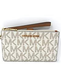 Jet Set Travel Double Zip Wristlet