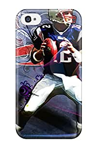 Tpu Robert Shockproof Scratcheproof Tom Brady Hard Case Cover For Iphone 4/4s