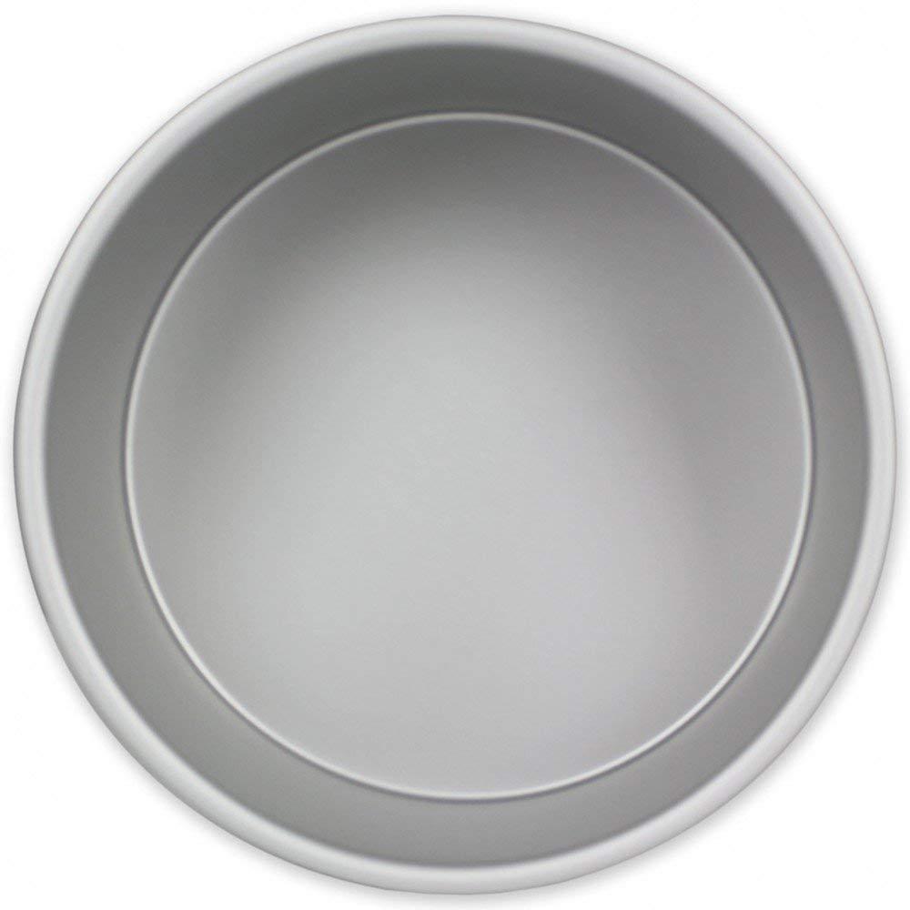 PME Molde para Pastel Redondo de Aluminio Anodizado Profundidad DE 15 x 4-Pulgadas: Amazon.es: Hogar