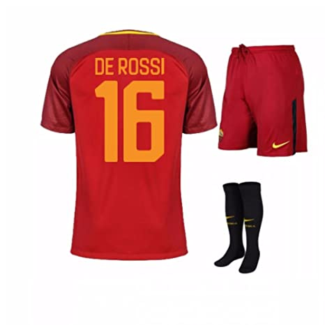 Amazon.com : 2017-18 Roma Home Baby Kit (De Rossi 16) : Sports & Outdoors