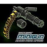 BrickArms Minigun 2.5-Inch [Black with Brass Ammo