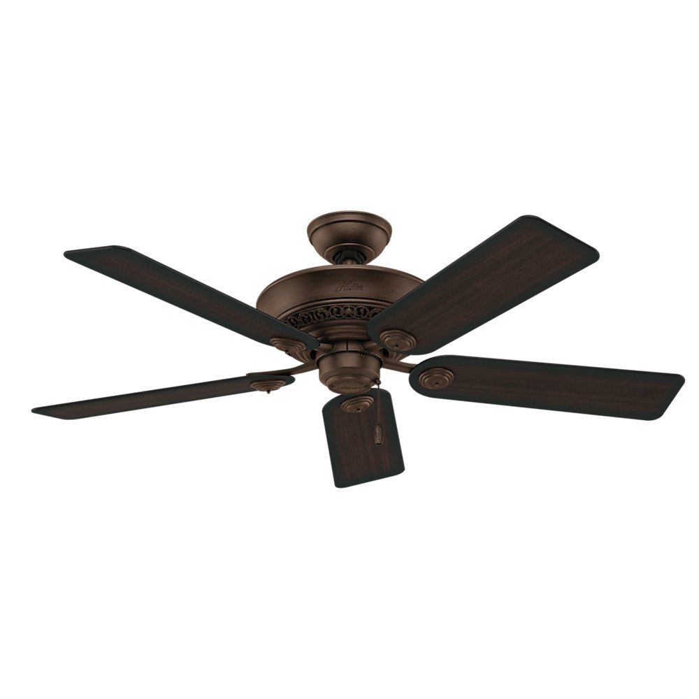Hunter 53200 italian countryside 52 inch ceiling fan with five aged hunter 53200 italian countryside 52 inch ceiling fan with five aged barnwoodcherried walnut blades and light kit cocoa ceiling fans with lights and aloadofball Choice Image