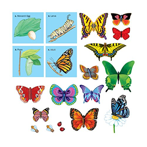 Little Folk Visuals LFV22306 Butterflies Precut Flannelboard Flannel Boards