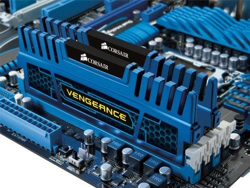 Corsair Vengeance Blue 16 GB (2x8 GB) DDR3 1600MHz (PC3 12800) Desktop Memory 1.5V by Corsair (Image #2)