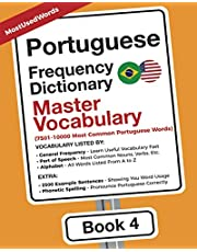 Portuguese Frequency Dictionary - Master Vocabulary: 7501-10000 Most Common Portuguese Words