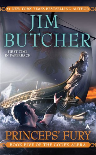 Princeps' Fury (Codex Alera) [Jim Butcher] (Tapa Blanda)