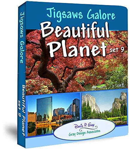 Jigsaws Galore! Beautiful Planet set 9