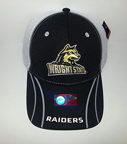 Amazon.com  Wright State University Raiders Flex fit Hat 3D Embroidered  Mesh Back Cap M L  Sports   Outdoors d6464fb75a3