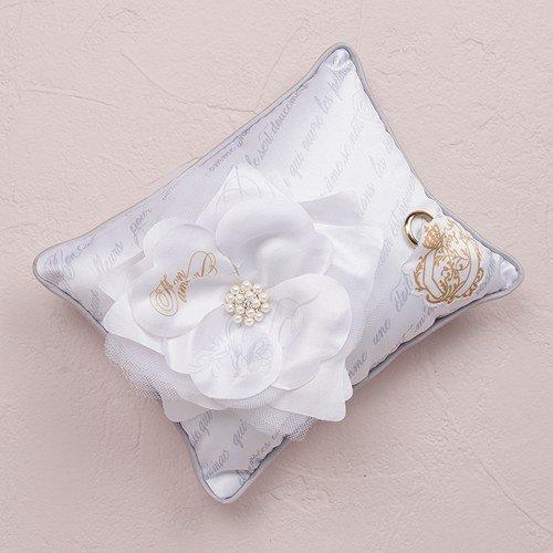 Parisian Love Letter Blossom Ring Bearer Pillow