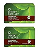 Best Desert Essence Body Cleansings - Desert Essence Cleansing Bar Tea Tree Therapy With Review