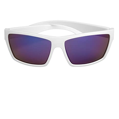 cf7288afac2 Scin Knox Polarized Sunglasses (MATTE WHITE   BROWN LENS NAVY BLUE REVO FM)