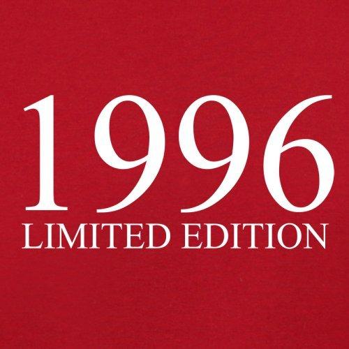 1996 Limierte Auflage / Limited Edition - 21. Geburtstag - Damen T-Shirt - Rot - XXL