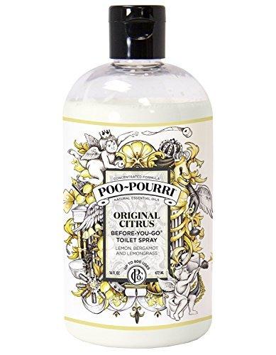 Poo-Pourri Original Before-You-Go Bathroom Spray Two 16 ounce refill bottle by Poo-Pourri (Image #1)