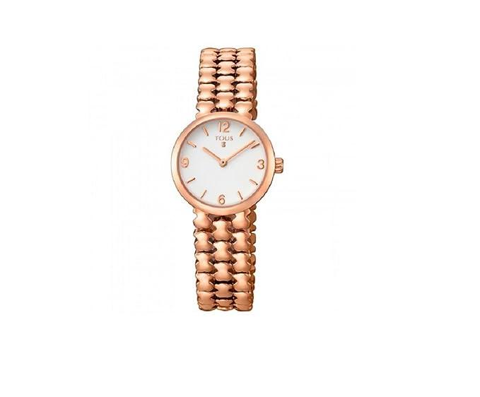 Reloj Tous Parade de acero IP rosado para mujer 700350255: Amazon.es: Relojes