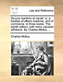 De Jure Maritimo et Navali, Charles Molloy, 1140848690