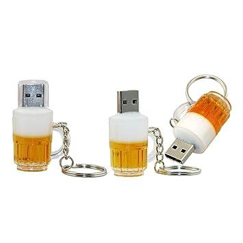 4GB Jarra de Cerveza Modelo USB 2.0 Flash Memory Stick Drive ...
