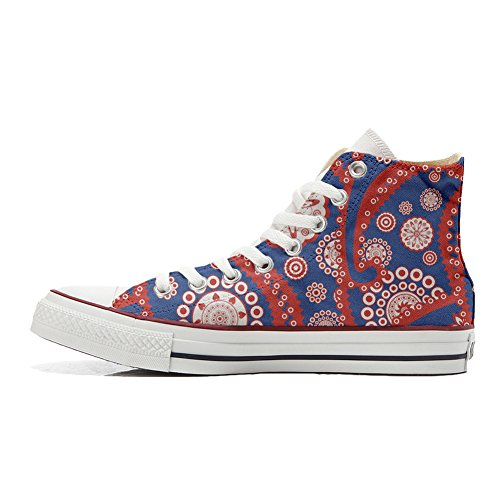 Unisex All producto Personalizados Zapatos Handmade Converse Paysley Vintage Star zaxBwqxI