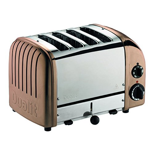 9. Dualit 4 Slice NewGen Toaster Copper
