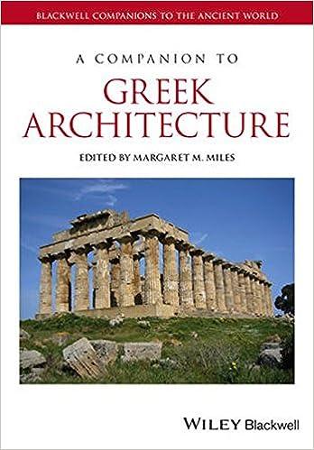 amazon com a companion to greek architecture blackwell companions