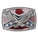 CattleDevil Western Cowboy Novelty Belt Buckles for Men Women (Eagle)