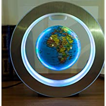 FWEF Suspended Glow Globe High Definition 8 Inch Table Lamp Decoration Child Gift Light